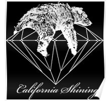 California shining white Poster