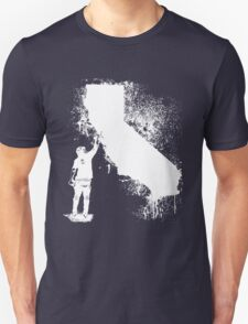 California Wall tagger white T-Shirt