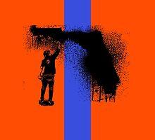 Florida Tagger by krisalanapparel