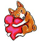 Basenji Love by offleashart