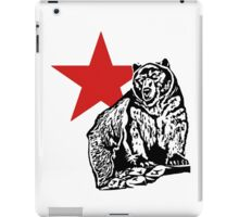 Kris Alan Apparel Grizzly  iPad Case/Skin