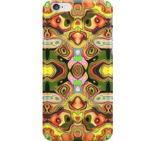Faces In Abstract Shapes 6 iPhone Case/Skin