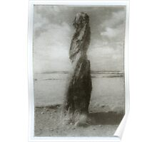 Standing Stone, Wales Poster