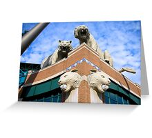 Comerica Park--Home of the Detroit Tigers Greeting Card