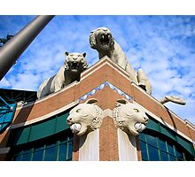 Comerica Park--Home of the Detroit Tigers Photographic Print