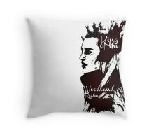 King of the Woodland Realm - Thranduil Throw Pillow