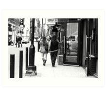 The streets of Philadelphia Art Print
