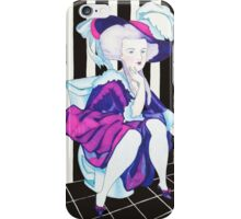 Marie Antoinette on the Shitter iPhone Case/Skin