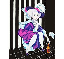 Marie Antoinette on the Shitter Photographic Print