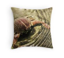 Mr. Crabs Throw Pillow