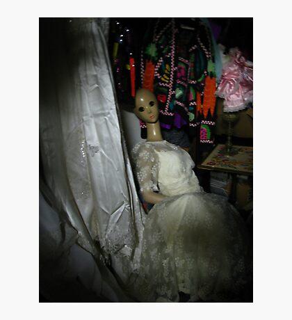 Mannequin Bride Photographic Print