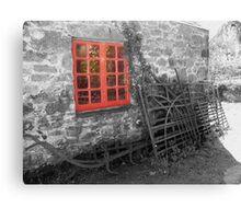 red window ... Canvas Print