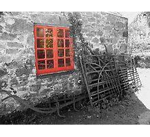 red window ... Photographic Print