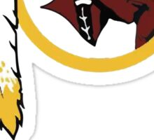 Redskins Winning Off The Field Success! Sticker