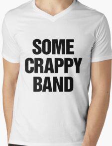 Some Crappy Band Mens V-Neck T-Shirt