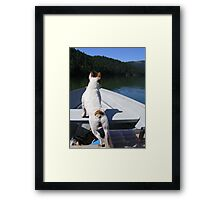 Riding Tough! Framed Print