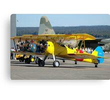 Three Boeing Steermans, Nowra Airshow, Australia 2007 Canvas Print