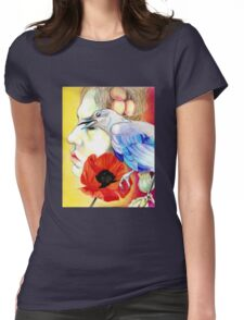 Opiate Womens Fitted T-Shirt