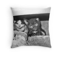 Can We Help You? Throw Pillow