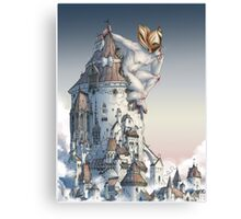 The Tower is Taken Canvas Print