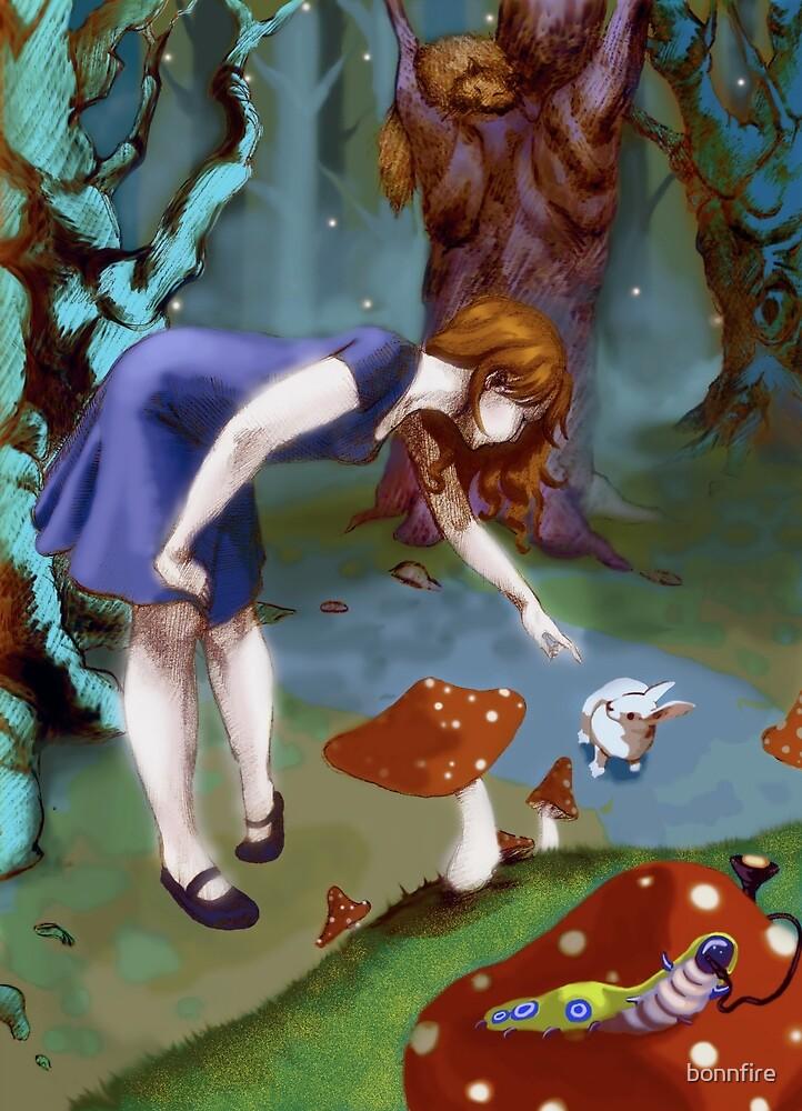 Alice in Wonderland by bonnfire