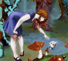 Alice in Wonderland by bonnfire