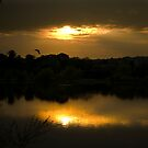 Elsecar Sunset by Dave Warren