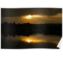 Elsecar Sunset Poster