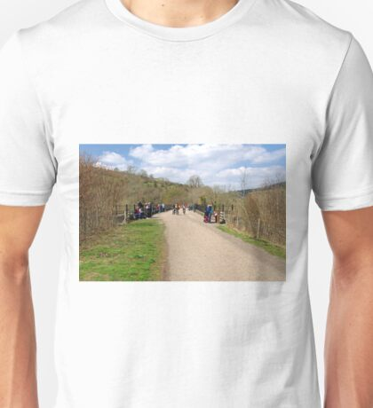 Monsal Trail and the Headstone Viaduct Unisex T-Shirt