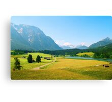 Bavaria Farmland Canvas Print