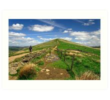 Approaching Lose Hill Art Print