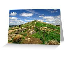 Approaching Lose Hill Greeting Card