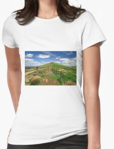 Approaching Lose Hill Womens Fitted T-Shirt