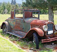 """""""1927 Pontiac 6"""" by Lynn Bawden"""