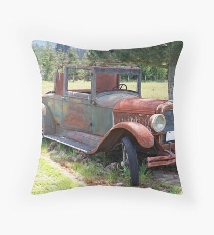 """1927 Pontiac 6"" Throw Pillow"