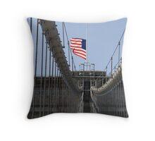 Brooklyn Bridge 2 Throw Pillow