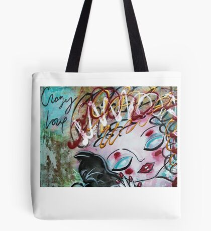 CAT Crazy Love Series Loralai Tote Bag