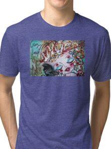 CAT Crazy Love Series Loralai Tri-blend T-Shirt