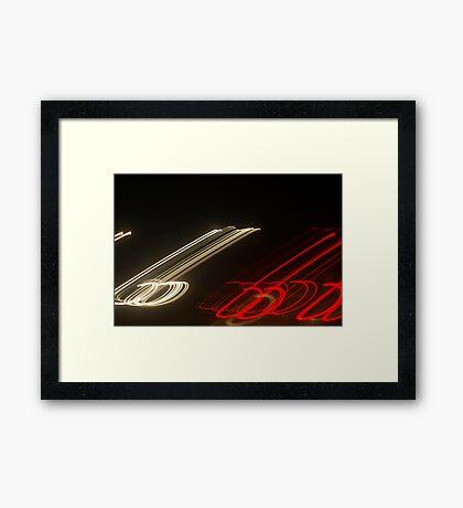 Crazy City 48 Framed Print