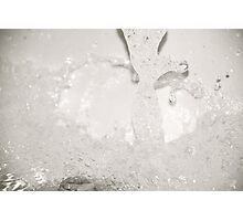 Sploosh! Photographic Print