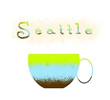 Pacific Northwest Coffee Lovers Photographic Print