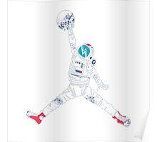 Space Jordan Poster
