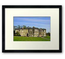 Calke Abbey House Framed Print