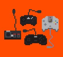 Pixel History - Sega Controllers by The World Of Pootermobile