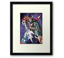 Galactic Guardian Framed Print