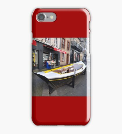 Granville, France 2012 - Reading Boat iPhone Case/Skin