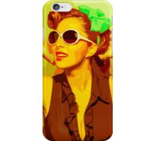 Timeless Vintage Girl iPhone Case/Skin