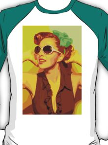Timeless Vintage Girl T-Shirt