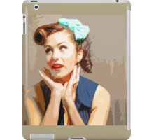 Yesteryear Coolness Forever iPad Case/Skin