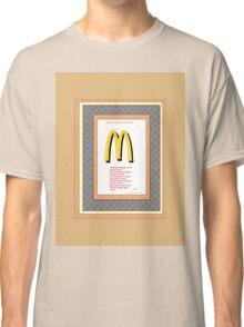 FAST FOOD NATION  -  'Pledge of allegiance' Classic T-Shirt